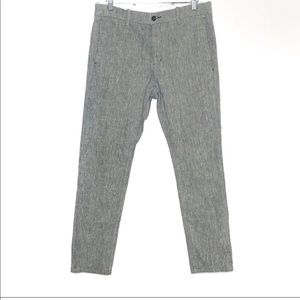 Levi's Gray 100 % Cotton Tapered Pants